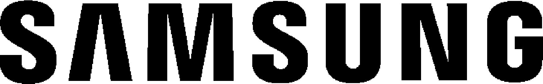Samsung Lettermark-Black - 65px